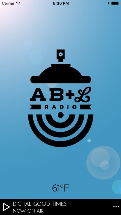 AB+L Radio (with weather overlay)
